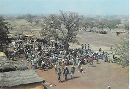 CPA-1990-BURKINA FASO-Province Du BOULKIEMDE-NANORO-MARCHE-TBE - Burkina Faso