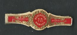 Bague De Cigare Redencion V.R Yca  Habana Riveroy Villamil - Bauchbinden (Zigarrenringe)