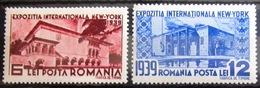 ROUMANIE                  N° 566/567                   NEUF* - Unused Stamps