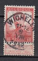 111 Gestempeld WICHELEN - COBA 8 Euro - 1912 Pellens