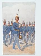 5206 Prima Guerra Pubblicitaria Militare 1914-18 Austria KUK Osterreich Ed B.K.W.I. 830-5 Pinx Koch - Guerra 1914-18