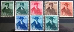 ROUMANIE                  N° 611/618                   NEUF** - Unused Stamps