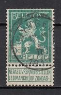 110 Gestempeld WYNGENE - COBA 8 Euro (zie Opm) - 1912 Pellens