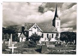 SC-1717  SORTLAND : Kirke - Norway