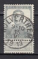 115 Gestempeld WOLVERTHEM - COBA 8 Euro - 1912 Pellens