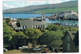 SC-1727   TORSHAVN : Kirke Og Den Gamle Boghandel - Faroe Islands