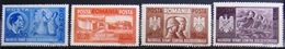 ROUMANIE                  N° 657/660                    NEUF** - 1918-1948 Ferdinand, Charles II & Michael