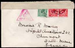 British Malta To France Censored Cover 1917 - Malta (...-1964)