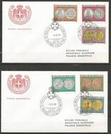 1978 SOVRANO ORDINE DI MALTA SMOM Monete Money  Fdc Viaggiata, Bellissima - Malte (Ordre De)