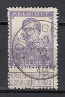 117 Gestempeld SOMERGEM - COBA 8 Euro + Cote 22,50 - 1912 Pellens