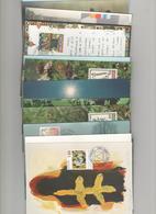 Liechtenstein Tarjeta Postal  -Sello Y Matasello- Año 93 Completo  (24 Tarjetas)  Según Foto - Liechtenstein
