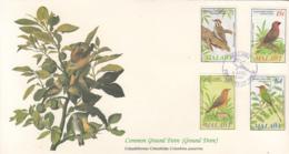 Malawi 1985 FDC Scott #470-#473 Woodpecker, Seedcracker, Akalat, Bee-eater Audubon Birds - Malawi (1964-...)