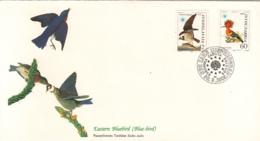 Yugoslavia 1985 FDC Scott #1728, #1729 Osprey, Hoopoe Audubon Birds - FDC