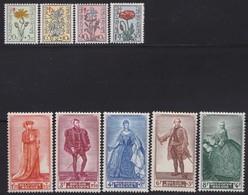 Belgie    .    OBP   .     814/822      .     **     .    Postfris ZONDER  Charnier    .  / .  Neuf SANS  Charniere - Unused Stamps