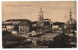 GRECE/GRECIA/GREECE - RODI/RHODES - TOUR DE L'HORLOGE ET ECOL SULEIMANTE' / MOSQUE - 1921 - Grecia