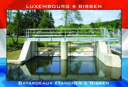 Carte Postale, REPRODUCTION, BISSEN (8), Canton Mersch, Luxembourg - Buildings & Architecture