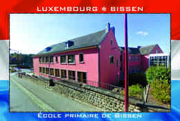 Carte Postale, REPRODUCTION, BISSEN (11), Canton Mersch, Luxembourg - Buildings & Architecture