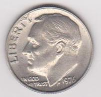 1976 Stati Uniti - 10 C Circolata (fronte E Retro) - Emissioni Federali