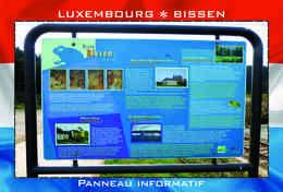 Carte Postale, REPRODUCTION, BISSEN (15), Canton Mersch, Luxembourg - Buildings & Architecture