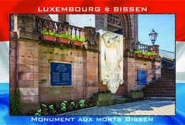 Carte Postale, REPRODUCTION, BISSEN (16), Canton Mersch, Luxembourg - Buildings & Architecture