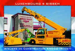 Carte Postale, REPRODUCTION, BISSEN (18), Canton Mersch, Luxembourg - Buildings & Architecture