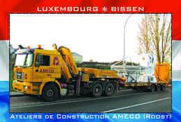Carte Postale, REPRODUCTION, BISSEN (21), Canton Mersch, Luxembourg - Buildings & Architecture