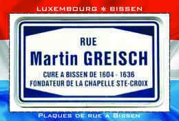 Carte Postale, REPRODUCTION, BISSEN (23), Canton Mersch, Luxembourg - Buildings & Architecture