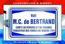 Carte Postale, REPRODUCTION, BISSEN (24), Canton Mersch, Luxembourg - Buildings & Architecture