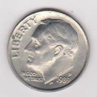 1989 Stati Uniti - 10 C Circolata (fronte E Retro) - Federal Issues