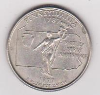 1999 Stati Uniti - 25 C Circolata (fronte E Retro) - 1999-2009: State Quarters