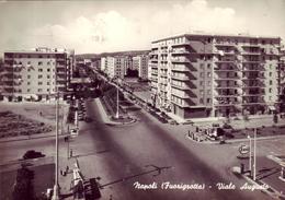 Napoli (Fuorigrotta) - Viale Augusto (distributori Esso E Mobilgas) - Napoli