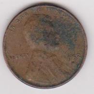 1952D Stati Uniti - 1 C Circolata (fronte E Retro) - Federal Issues