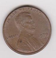 1979 Stati Uniti - 1 C Circolata (fronte E Retro) - 1959-…: Lincoln, Memorial Reverse
