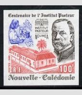 New Caledony 1988, Pasteur Institute, 1val IMPERFORATED - Nueva Caledonia
