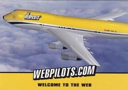THE WEBPILOTS, THE BETTER WAY TO SURF GO CARD . CIRCA 2000s NON CIRCULEE- BLEUP - Reclame
