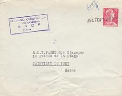 LSC - Obltération Linéaire - BELFORT à PARIS - Postmark Collection (Covers)
