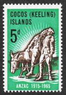 Cocos Islands (Keeling) - Scott #7 MNH - Cocos (Keeling) Islands