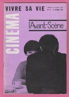 3 Magazines CINEMA L'AVANT- SCENE. L'ANGE BLEU. LE DESERT ROUGE. VIVRE SA VIE. - Cinéma/Télévision