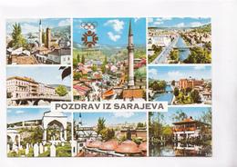 POZDRAV IZ SARAJEVA, Sarajevo, Bosnia And Herzegovina, Unused Postcard [22277] - Bosnia And Herzegovina
