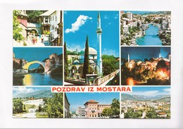 POZDRAV IZ MOSTARA, Mostar, Bosnia And Herzegovina, Unused Postcard [22278] - Bosnia And Herzegovina