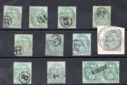 FRANCE OBLITERATION JOUR DE L AN - Unused Stamps