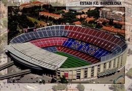 POSTAL Nº B0125, ESTADI FUTBOL CLUB BARCELONA, CATALUÑA, ESPAÑA (307) - Estadios