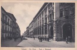 CATANIA -  VIA ETNEA -POSTE E TELEGRAFI - Catania
