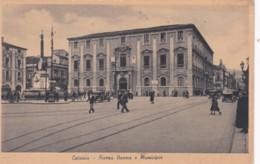 CATANIA  - PIAZZA DUAMA E MUNICIPIA - Catania