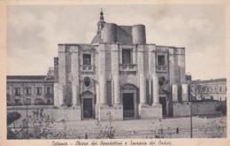 CATANIA  - CHIESA DEI BENEDETTINI E SACRARIO DEI CADUTI - Catania