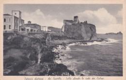 CATANIA  DITARNI -ACI CASTELLA -SULLO SFONDA LE ISOLE DEI CICLOPI - Catania
