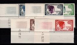 Laos - YV 13 à 17 N** Complete Coin Daté - Laotienne - Laos