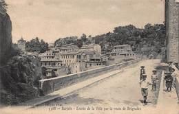 CPA Barjols - Entrée De La Ville Par La Route De Brignoles - Barjols