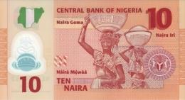 NIGERIA P. 39a 10 N 2009 UNC (2 Billets) - Nigeria