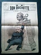 Le Don Quichotte, 26 Août 1881. Ca Penche Par Gilbert-Martin - Newspapers